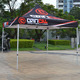 Gazebo flat top canopy/outdoor canopy tent/heavy duty outdoor folding tent