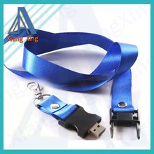 High quality usb flash drive with lanyard for promotion