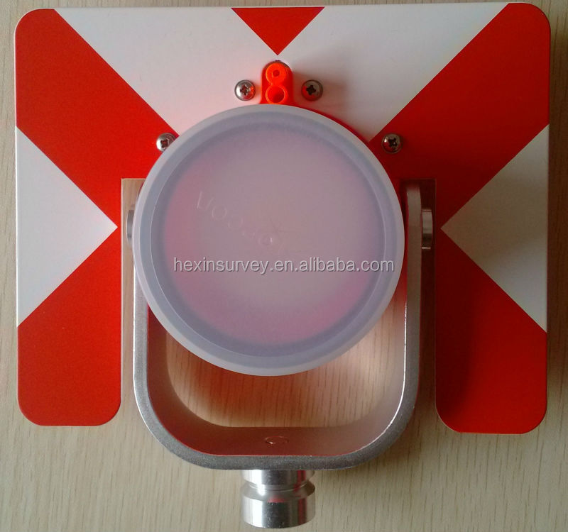 Prism for survey instruments plastic optical prism