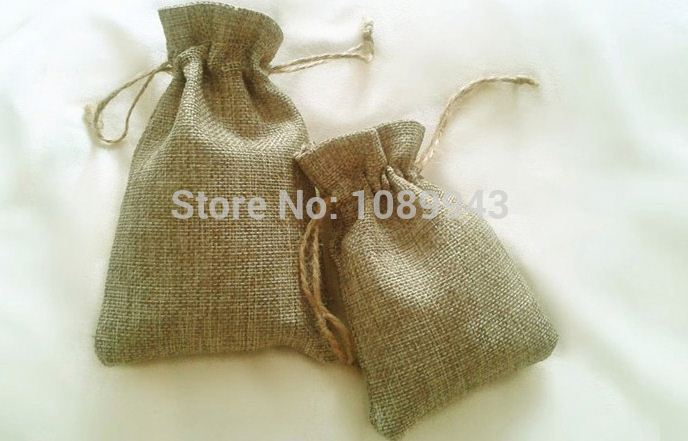 Multifunctional Custom Printed Top Quality Small Jute Bag For <strong>Rice</strong>