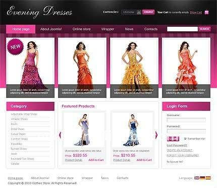 Paginas web de tiendas de ropa vestido de novia for Pagina web ministerio interior