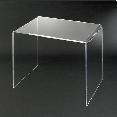 cheap clear acrylic computer desk