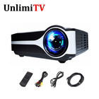 Support 1080P Video Home Cinema Theater Led USB projector TV