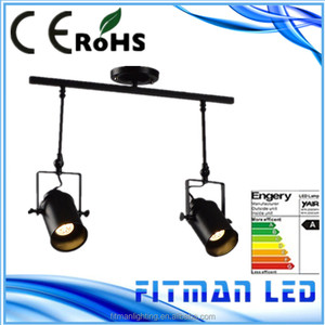 New Vintage style e27 led track spot light for clothing store, corridor, Gallery