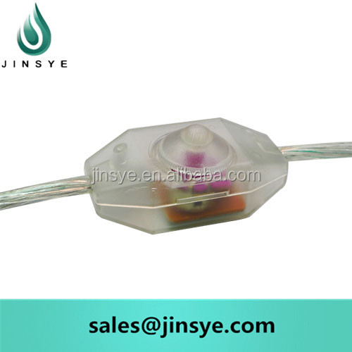 transparent on line dimming isolation light lamp switch