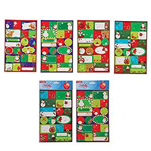 Christmas Gift Tag Stickers – Assorted (FLOMO) christmas gift tags, christmad gifts, christmas gifts, gift tags, christmas tags, xmas, christmas gift tag stickers, christmas present gift tags
