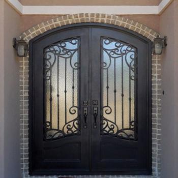 Wrought Iron Sliding Door Design/steel Iron Security Door/iron Safety Door  Design