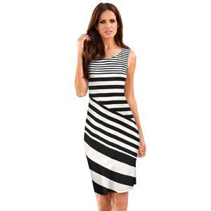 70954788136 Latest New Arrival Sleeveless Office Woman wholesale fashion dresses