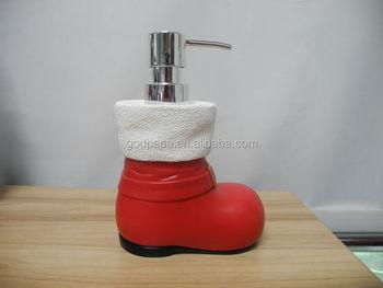 funny bath set for kids hotel home decro christmas bathroom sets accessories - Christmas Bathroom Sets