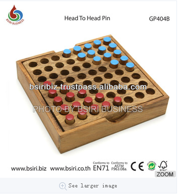 brain exercise games Head to Head Pin