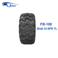 Chinese Credible Supplier Wholesale ATV Tire 25x8-12 Tire For ATV