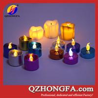 Mini New Design LED Electroplate Tea Light Work with CR2023