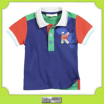 f9e79393907 Insignia De Encargo Del Bordado Polo De Algodón Para Niñas Y Niños ...
