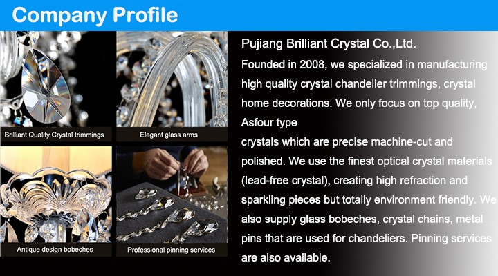 Asfour quality K9 AAA machine cut clear crystal chandelier almonds for lighting parts