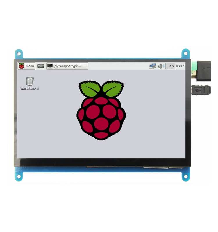 5 inch HDMI <strong>LCD</strong> with capacitive touch screen 800x480 for raspberry pi 3