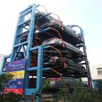 Car lift parking automated garage car stacking vertical parking system/car stack building