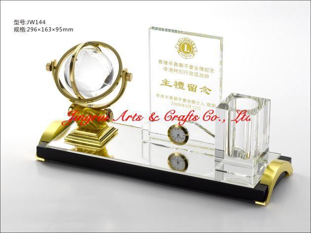 Unique Design Business Souvenir Anniversary Gift Crystal Trophy ...