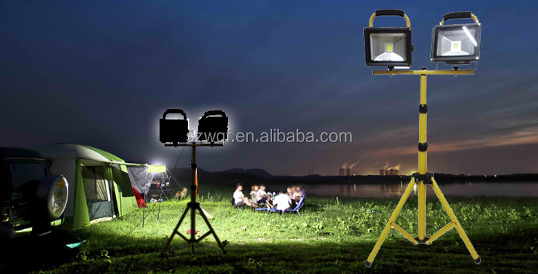 Camping Lighting Outdoor Ip65 5w Portable Rechargeable Led Flood ...