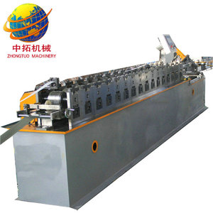 Professional cold rolled galvanized steel t-bar making machine