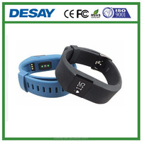 Desay Call/SMS/QQ/Wechat OLED Exercise Smart Heart Rate Wristband DS-B509 iOS 7.1 +, Android 4.3 +