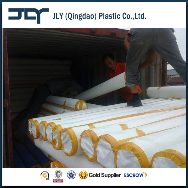 Qingdao Factory UV Treated Fabric Poly Tarps Heavy Duty Waterproof Building Construction Cover PE Tarpaulin