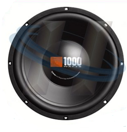 "Single 12"" inch 4 ohm Premium HQ Car Audio Woofer Subwoofer Bass Speaker"