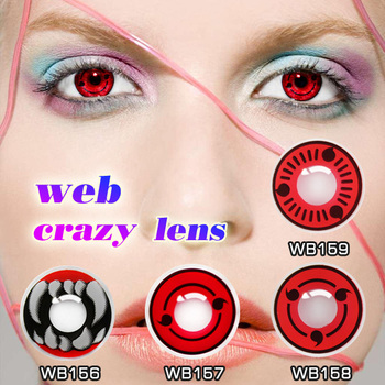 wholesale colored contacts name yourself with free cases kakashi red eye wholesale halloween contacts