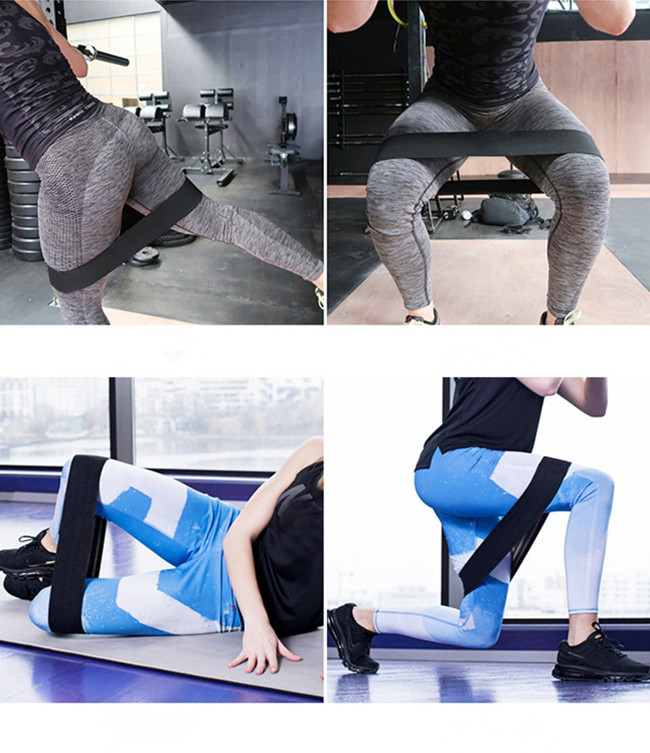 Hip Weerstand Band Cirkel Band Workout Mannen en Vrouwen Spieren Alike Workout Band en Warm up Sling Voor Uw Benen en Butt