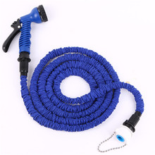 25FT Blue UK 2 Layers Latex x water garden hose,flexiable water hose