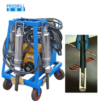 Best selling high quality durable Portable Hydraulic Rock Splitter