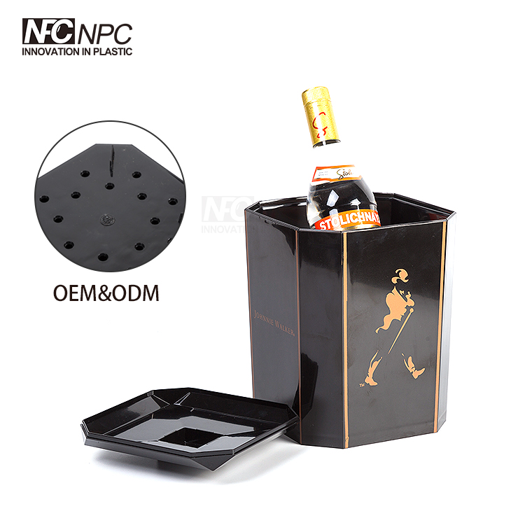 Wholesale Price Promotional Custom Color belaire rose champagne ice bucket