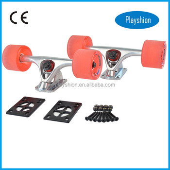 7 Inch Longboard Cruiser Skateboard Trucks And Wheels Spare Parts ...