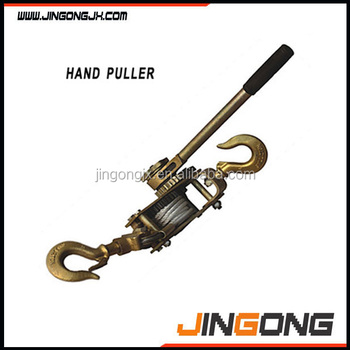 Easy To Control For 2 Ton Hand Puller With Wire Rope / Ratchet ...