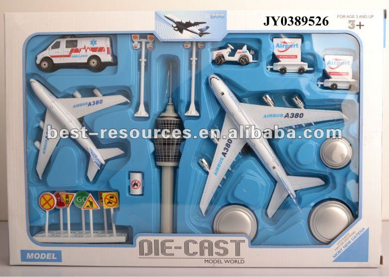 Toy plane set kids toy plane die cast plane