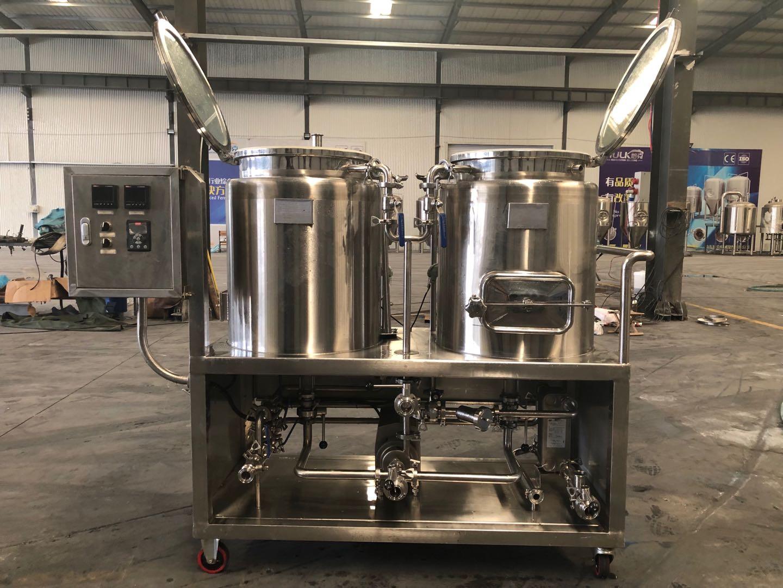 DIY घर बीयर पक उपकरण microbrewery 100L 50L