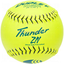 Dudley Asa Thunder Heat Fast Pitch /slow pitch Softball 12""