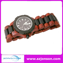 High quality and fast delivery time 100% natural wood watches men with CUSTOM LOGO