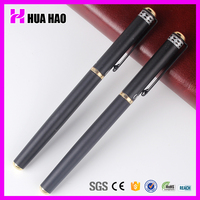 Factory price advanced metal detectable pens calligraphy writing roller pen roller ball pen for promotion