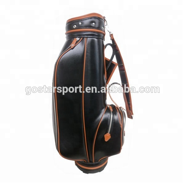 Antique Leather Golf Bags Pu