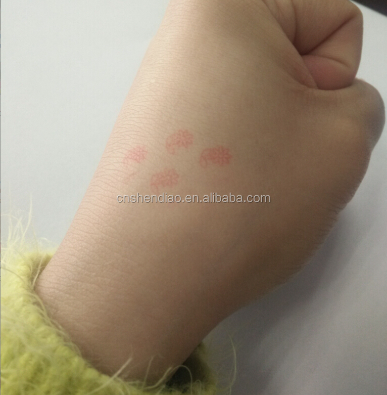 Hand face paint stamp food grade stamp with water based ink washable fabric stamp