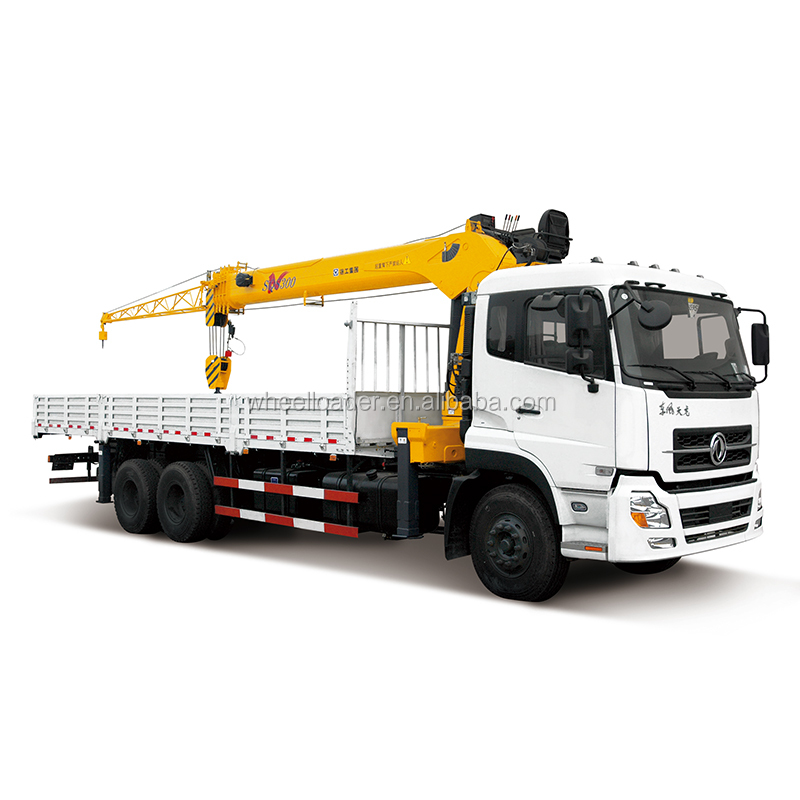 XCMG SQS250 10 ton knuckle boom truck mounted crane