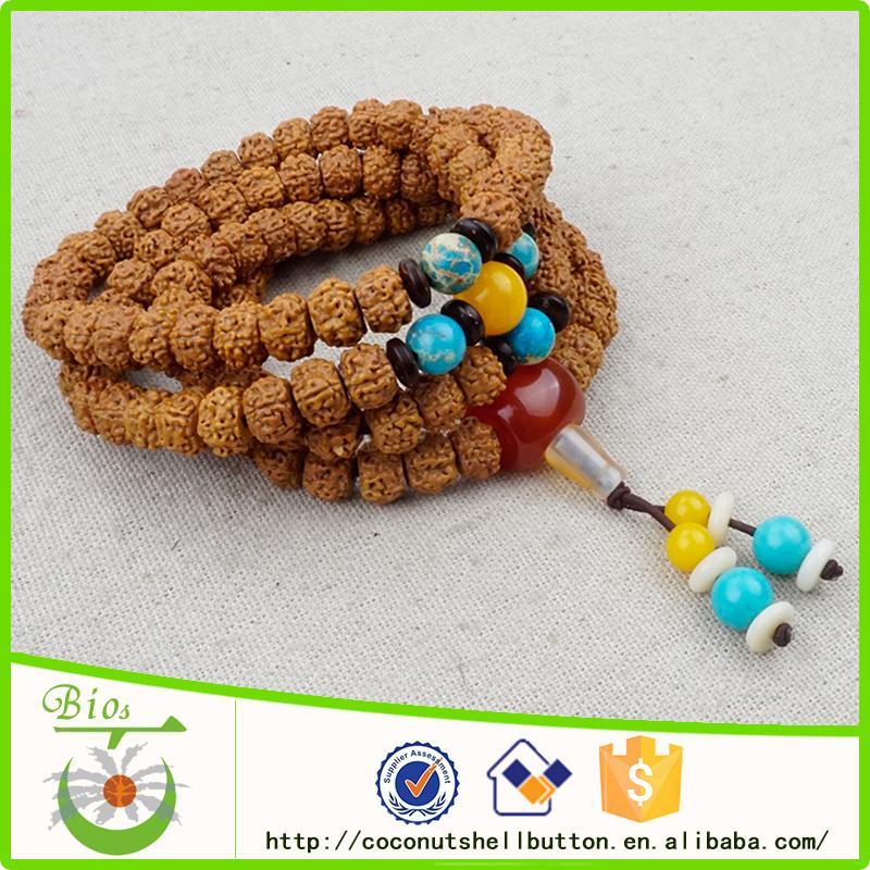 f5b01b52365e 108 unids Rudraksha con cuentas venta al por mayor de la joyería espiritual  proveedores