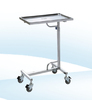 BS - 667 Stainless Steel Surgical Mayo Table Surgical Instrument Table