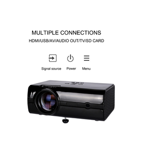 LCD type led video projector with RCA cable for Home and conference
