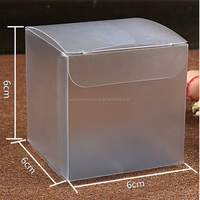 2016 High-end Frosted PVC Plastic Display Box For Cake/Candy/Bread