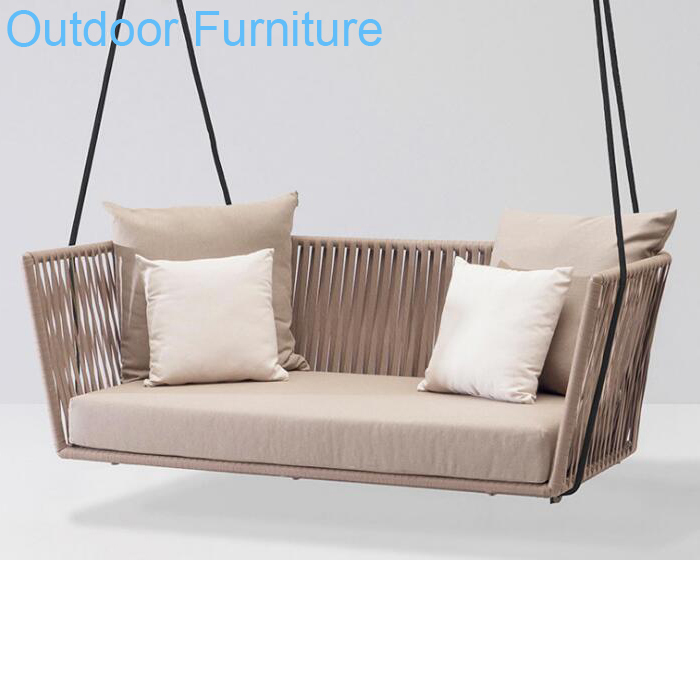 Surprising Modern Rope Furniture Indoor Outdoor Patio Rattan Wicker Hanging Two Love Seat Swing Chair Buy Tow Seat Love Seat Swing Wicker Hanging Swing Gmtry Best Dining Table And Chair Ideas Images Gmtryco