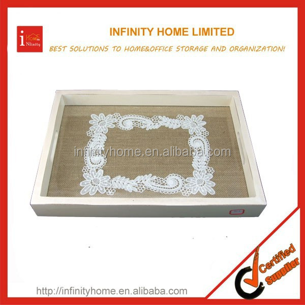 wholesale Antislip Art Craft Plastic Serving Tray