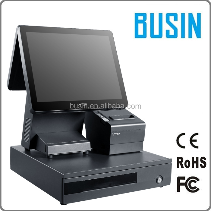 15 inch android system pos machine touch screen terminal