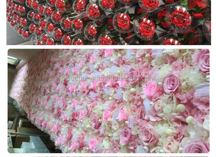 New Arrival Eternal Roses That Lasting For 1 Year Preserved Flower Valentines Gifts