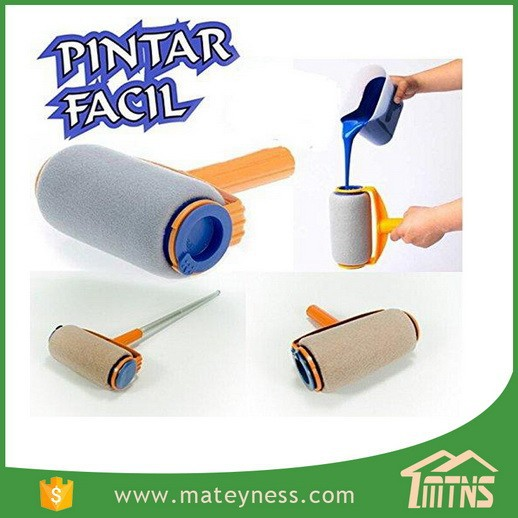 Pintar Facil Handle Household Paint Roller Rush